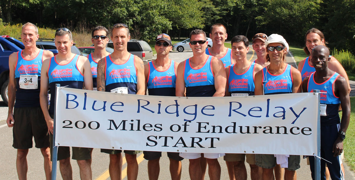CGTC Blue Ridge Relay Masters Men